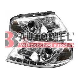 VW PASSAT B5+ 10/00-3/05- Predné svetlá Tuning /s denným svietením/