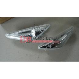 BMW X5 E70 2/07-  Bočné smerovka SADA /biele/ - LED diódové