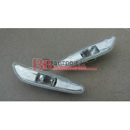BMW 1 E87 4/07- Bočné smerovky SADA /biele/
