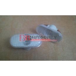 RENAULT TWINGO 9/92-9/98- Bočné smerovka L+P SADA /biele/