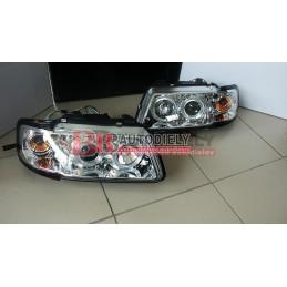 Audi A3 9/96-9/00- SADA Predné svetlá L+P /Tunning/ -strieborné