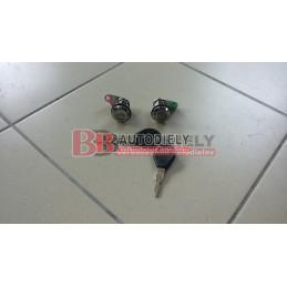 NISSAN PRIMERA 9/90-9/96- SADA predných zámkov + 2 klúče