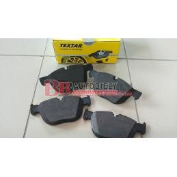 BMW X5 E70 2/07- Predné platničky SADA /TEXTAR/