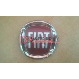 FIAT 500 7/2007- Znak v maske /červený/