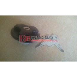 FIAT 500 7/2007- Uzáver palivovej nádrže + klúčiky