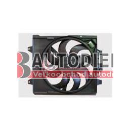 FIAT 500 7/2007- Ventilátor chladiča /1,2i-MJTD/- s AC