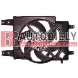 Alfa Romeo 166 9/98-9/03- Ventilátor chladiča /2,0TS-2,5i-3,0i/