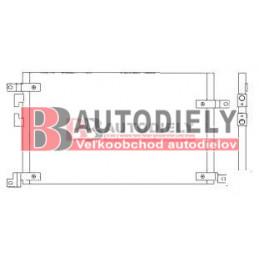 Alfa Romeo 147 10/00- Chladič klimatizácie /pre 1,9JTD-85KW/ typ VALEO