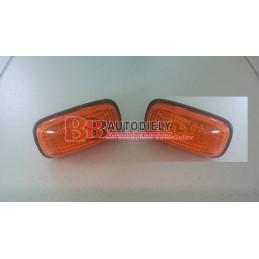 NISSAN PRIMERA 7/99-3/02- Bočné smerovky SADA /oranžové/