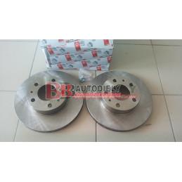 Predné kotúče SADA /FERODO/ - 280mm, ventilované /1,0-1,4T/