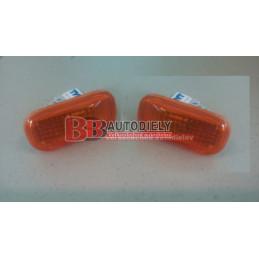 Bočné smerovky, SADA /oranžové/