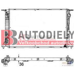 AUDI A5 6/07-2011- Vodný chladič /S5, RS5/ -manuál