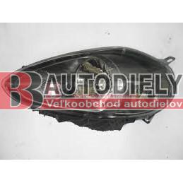 FIAT PUNTO EVO 7/08-3/2012- Predné svetlo Lavé /šedý rámik/