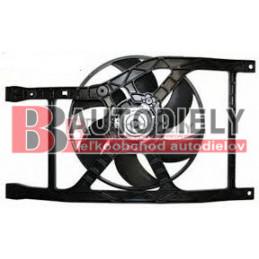 FIAT 500 7/2007- Ventilátor chladiča /1,2-1,4-1,3MultiJet//