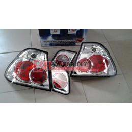 BMW 3 E46 9/01-3/05- Zadné svetlá tuning SADA L+P