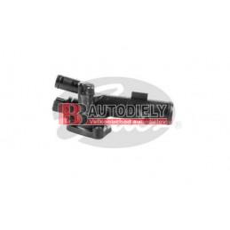 Termostat, komplet s prírubou /GATES/ - pre motor 1,5DCi