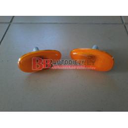 DAEWOO LANOS 2/97- Bočné smerovky SADA /oranžové/