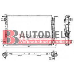 AUDI A4 11/07- Vodný chladič /3,0-3,2-2,7TDi-3,0TDi/ - mnauál