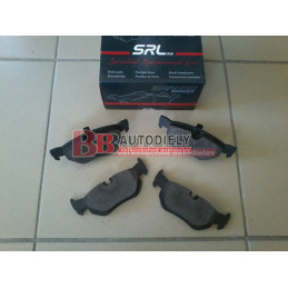 BMW 1 E87 9/04- Zadné platničky /zn. SRL./