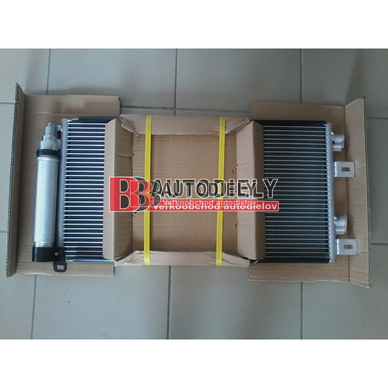 MINI /R50, R53/ 6/01- Chladič klimatizácie /1,6i/ -MINI ONE, MINI COOPER