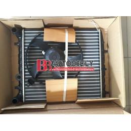 SEAT IBIZA 6/2008- Chladič vodný s ventilátorom /1,2-1,4i/