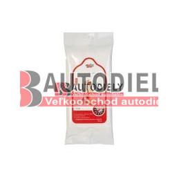 Vlhčené utierky rúk , antibakteriálne