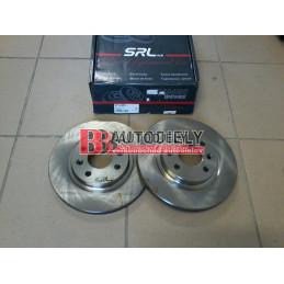 Predné kotúče, Sada /výrobca SRL./ -257mm