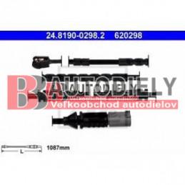 Predná signalizácia opotrebenia, sada /výrobca ATE/ - 1087mm