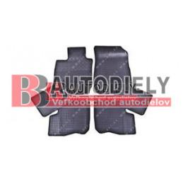 Gumové rohože čierne SADA 6ks - pre 7 miestnu verziu