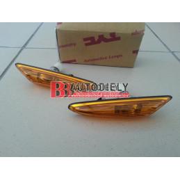 BMW 3 E46 9/01-3/05- SADA Bočné smerovky L+P /oranžové/