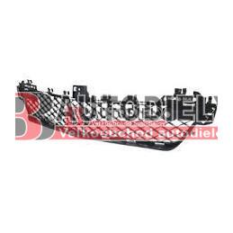 MERCEDES BENZ C W204 3/2011- Mriežka predného nárazníka, stredová /s otvormi pre parkomat/