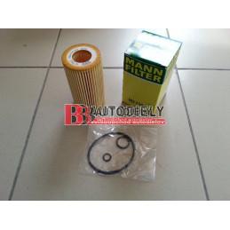 MERCEDES BENZ C W204 1/07- Olejový filter /MANN/- C200CDI-C220CDI