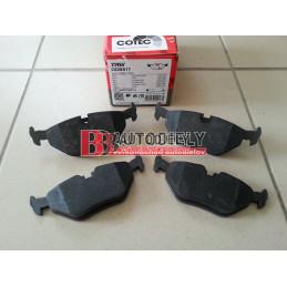 BMW 7 E32 10/86-8/94- Zadné platničky  /TRW/