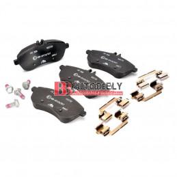 MERCEDES BENZ C W204 3/2011- Predné platničky, Sada /výrobca ATE/