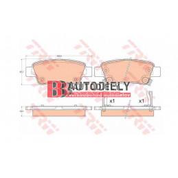 HONDA CRV 10/2012- SADA zadné platničky /TRW/