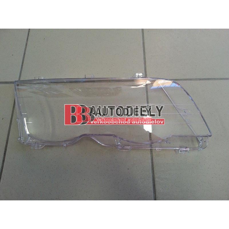 BMW 3 E46 4/98-8/01- Predné sklo svetla, Pravé