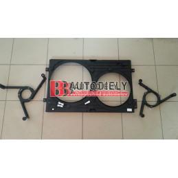 Plastový kryt sahary ventilátorv /345, 290mm/