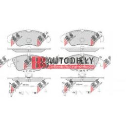 AUDI A4 11/07- Predné platničky, Sada /Výrobca A.B.S./ -brzd systém TRW