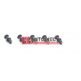 Plastové príchytky krytov pod motor /5ks/