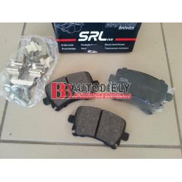 Zadné platničky SADA /výrobca SRL/