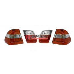 BMW 3 E46 9/01-3/05- Zadné svetlá tuning SADA /LED/