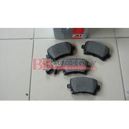 AUDI A5 6/07-2011- Zadné platničky SADA /zn A.B.S./