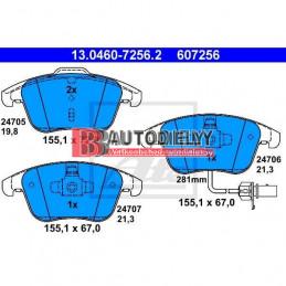 AUDI A5 6/07-2011- Predné platničky, Sada /Výrobca ATE/ -brzd systém ATE